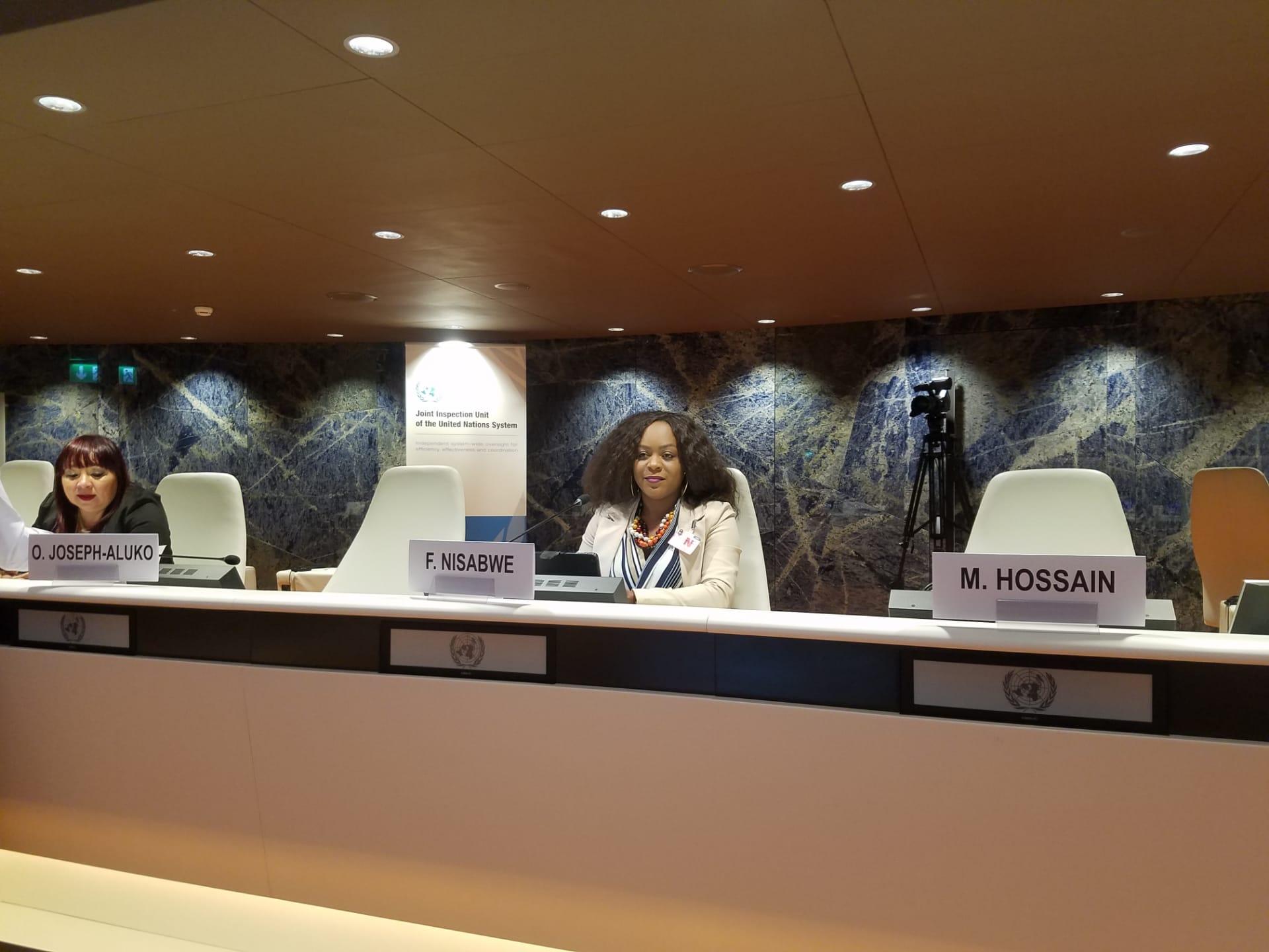 Geneva, United Nations, 2018