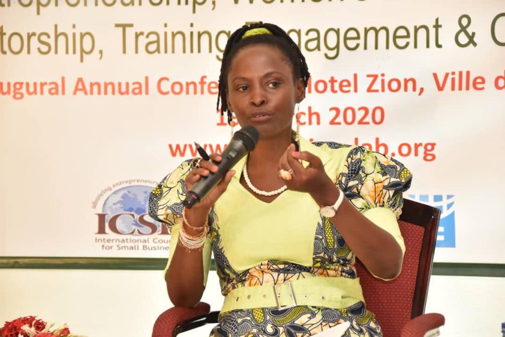 UN Women Representative, Mrs Jennet Kem