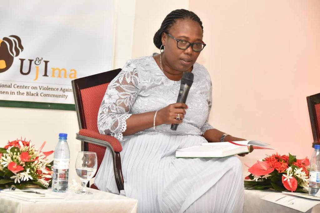 Vice-Governor of Central Bank of Burundi, Mrs Annonciate Sendazirasa