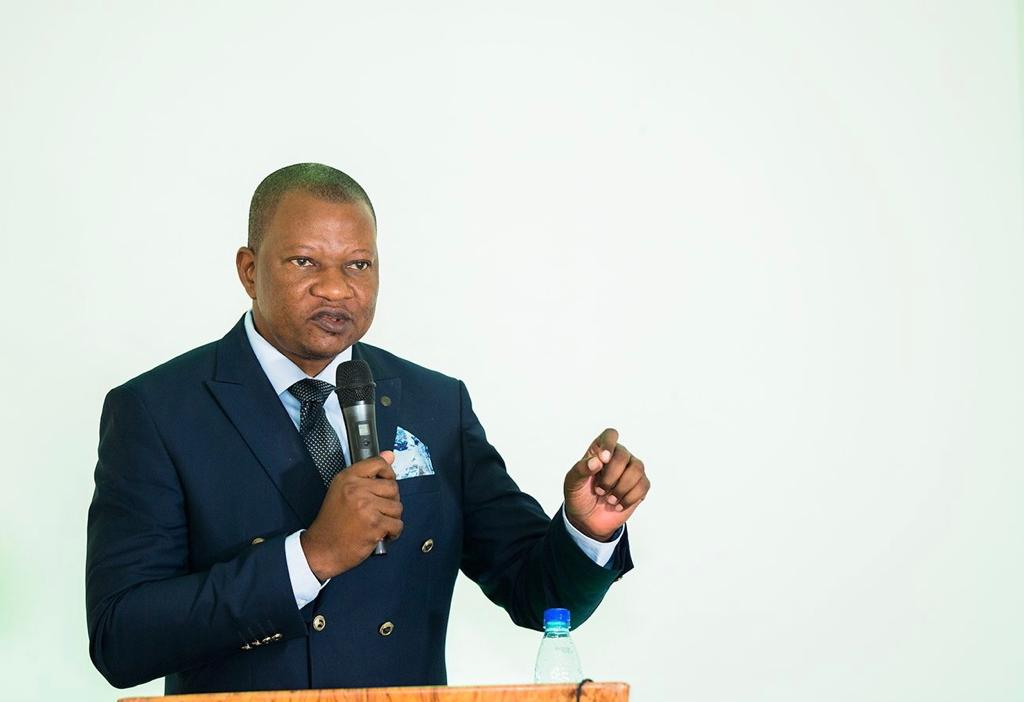 Professor Alain Ndedi, Fondation-LAB Chairman, welcome speech